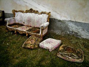 get rid of furniture