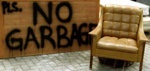 throwing away furniture nyc