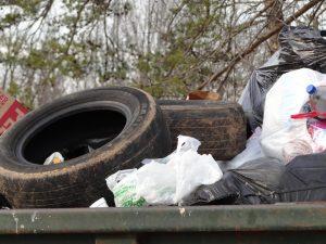 large garbage pick up