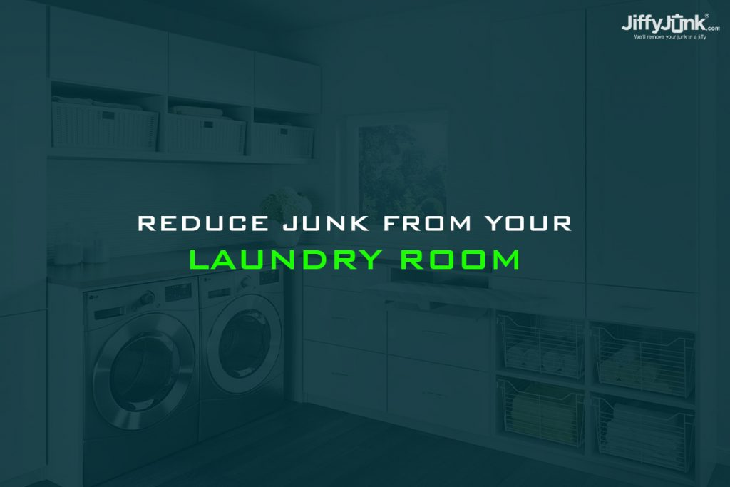 Reduce junk from your laundry room by JiffyJunk