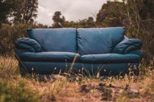 disposing of a sofa