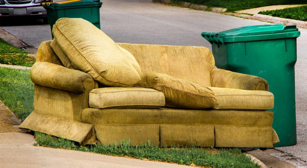 Getting Rid Of Your Old Couch